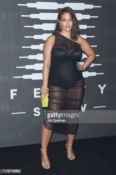 Ashley Graham attends the Savage x Fenty arrivals during New York Fashion Week at Barclays Center on September 10 2019 in New York City