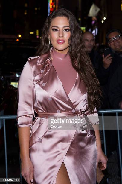 Ashley Graham attends the Sports Illustrated Swimsuit 2018 launch event at the Moxie Hotel on February 14 2018 in New York City