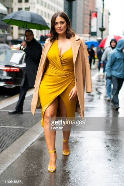 Ashley Graham attends Variety's Power of Women at Cipriani Midtown the on April 05 2019 in New York City
