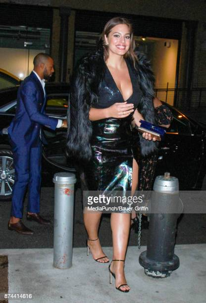 Ashley Graham is seen on November 14 2017 in New York City