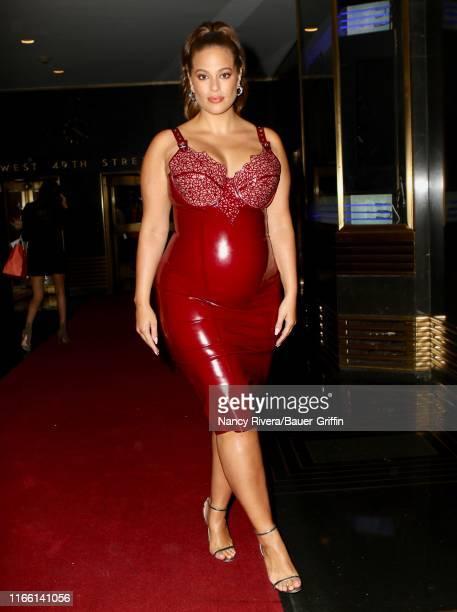 Ashley Graham is seen on September 05 2019 in New York City
