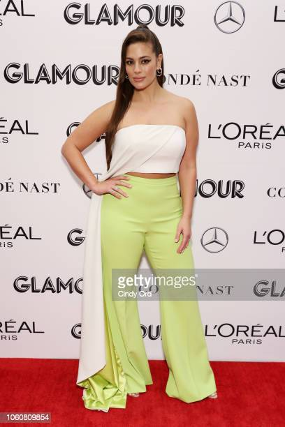 Ashley Graham poses backstage at the 2018 Glamour Women Of The Year Awards Women Rise on November 12 2018 in New York City