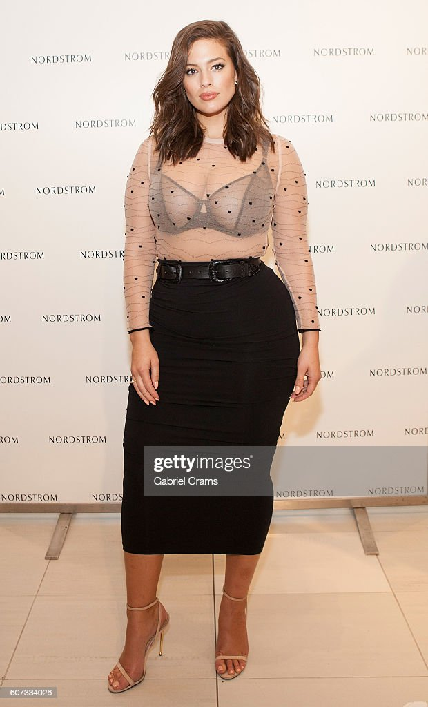 Ashley Graham Hosts Addition Elle Lingerie Presentation