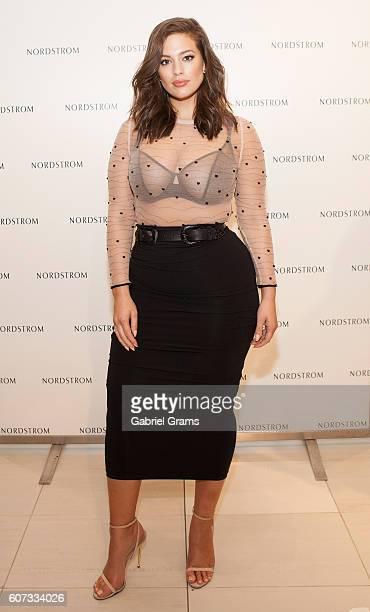 Ashley Graham presents Ashley Graham Lingerie for Addition Elle at Nordstrom Oakbrook Center on September 17 2016 in Chicago Illinois