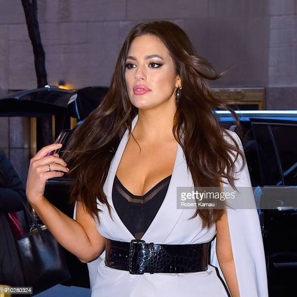 Ashley Graham seen out and about in Manhattan on January 25 2018 in New York City