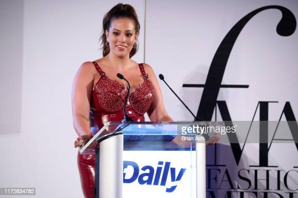 Ashley Graham speaks onstage during The Daily Front Row's 7th annual Fashion Media Awards on September 05 2019 in New York City