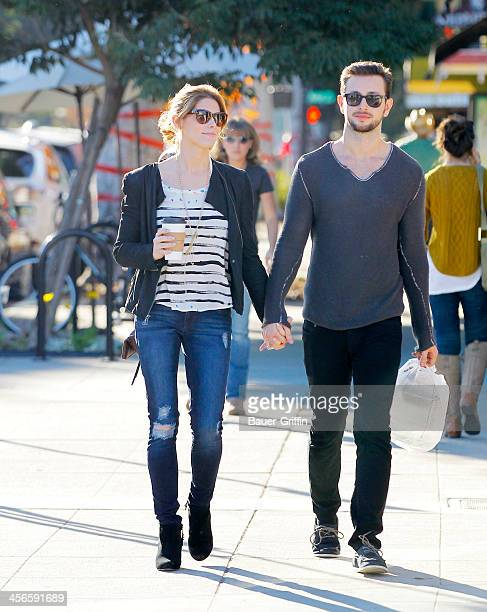 Ashley Green and Paul Khoury are seen on December 14 2013 in Los Angeles California