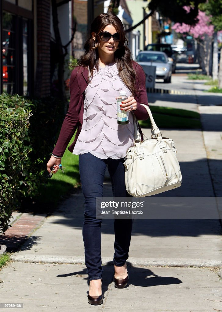 Ashley Green is seen on March 13, 2010 in West Hollywood, California.