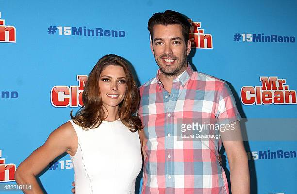 Ashley Greene and Jonathan Scott attends Ideas With Mr Clean at 24th Street Loft on July 28 2015 in New York City
