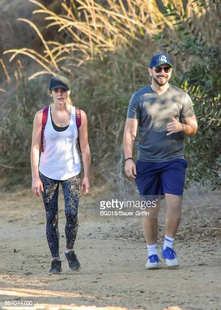 Ashley Greene and Paul Khoury are seen on December 01 2017 in Los Angeles California