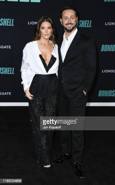 """Ashley Greene and Paul Khoury attend Special Screening Of Liongate's """"Bombshell"""" at Regency Village Theatre on December 10, 2019 in Westwood,..."""