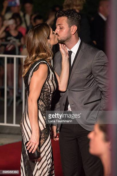 Ashley Greene and Paul Khoury attends the premiere of 'In Dubious Battle' during the 73rd Venice Film Festival at Sala Giardino on September 3 2016...