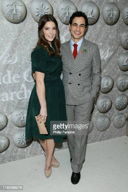 Ashley Greene and Zac Posen attend Brooks Brothers Annual Holiday Celebration To Benefit St. Jude at The West Hollywood EDITION on December 07, 2019...