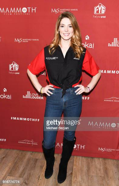 Ashley Greene arives at The Inaugural Mammoth Film Festival on February 10 2018 in Mammoth Lakes California