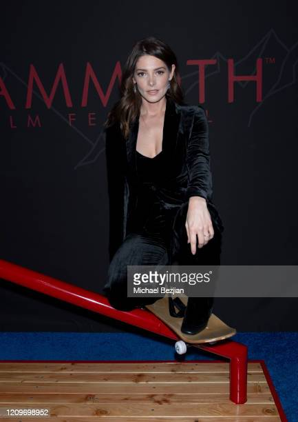 Ashley Greene arrives at 3rd Annual Mammoth Film Festival Red Carpet Saturday on February 29 2020 in Mammoth Lakes California