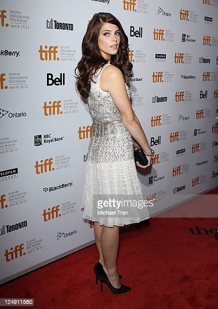 "Ashley Greene arrives at the ""Butter"" premiere during the 2011 Toronto International Film Festival held at Roy Thomson Hall on September 13, 2011 in..."