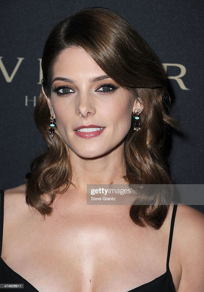 Ashley Greene arrives at the BVLGARI 'Decades Of Glamour' Oscar Party Hosted By Naomi Watts at Soho House on February 25, 2014 in West Hollywood, California.