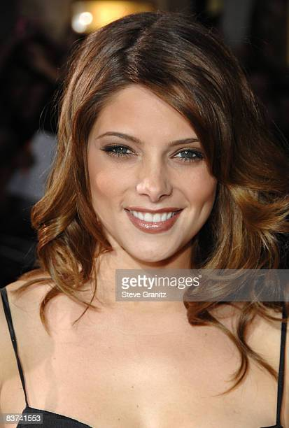 Ashley Greene arrives at the Los Angeles premiere of Twilight at the Mann Village and Bruin Theaters on November 17 2008 in Westwood California