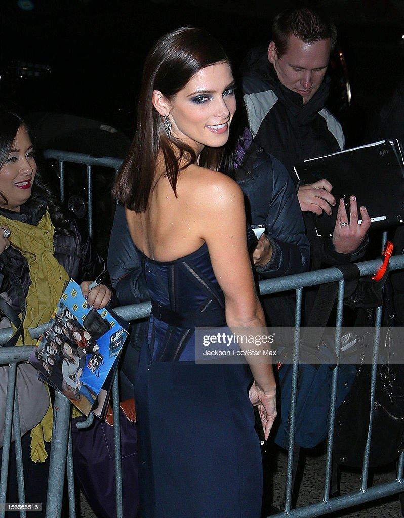 Ashley Greene as seen on November 15, 2012 in New York City.