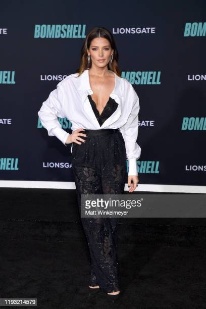 Ashley Greene attends a Special Screening of Liongate's Bombshell at Regency Village Theatre on December 10 2019 in Westwood California