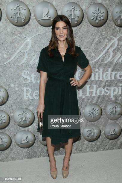 Ashley Greene attends Brooks Brothers Annual Holiday Celebration To Benefit St. Jude at The West Hollywood EDITION on December 07, 2019 in West...