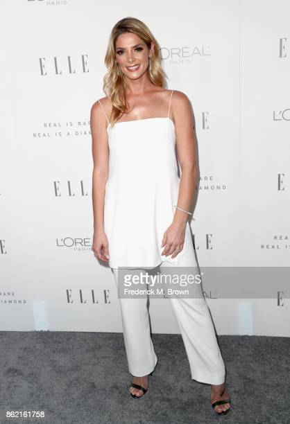 Ashley Greene attends ELLE's 24th Annual Women in Hollywood Celebration at Four Seasons Hotel Los Angeles at Beverly Hills on October 16 2017 in Los...