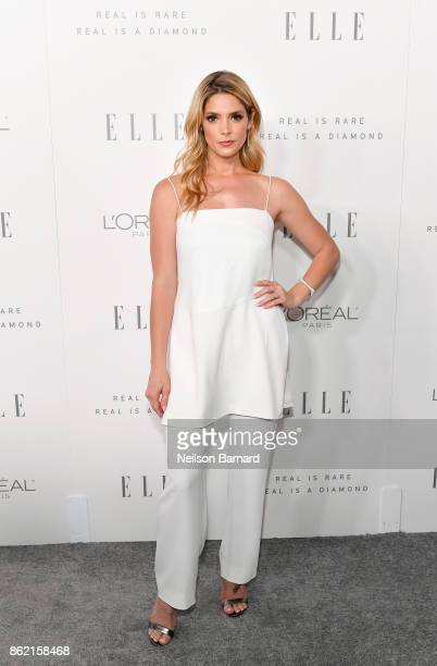 Ashley Greene attends ELLE's 24th Annual Women in Hollywood Celebration presented by L'Oreal Paris Real Is Rare Real Is A Diamond and CALVIN KLEIN at...