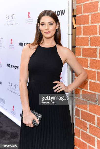 Ashley Greene attends Ira and Bill DeWitt's Saint candle launch benefiting St Jude Children's Research Hospital at MR CHOW on June 12 2019 in Beverly...
