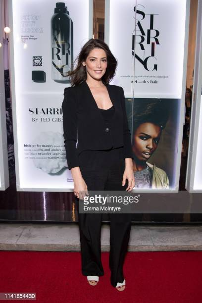 Ashley Greene attends 'STARRING by Ted Gibson' Salon opening on April 10 2019 in Los Angeles California