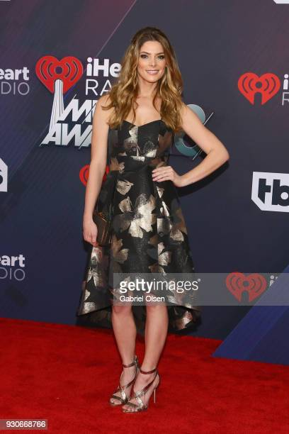 Ashley Greene attends the 2018 iHeartRadio Music Awards at the Forum on March 11 2018 in Inglewood California