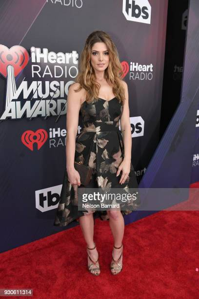 Ashley Greene attends the 2018 iHeartRadio Music Awards which broadcasted live on TBS TNT and truTV at The Forum on March 11 2018 in Inglewood...