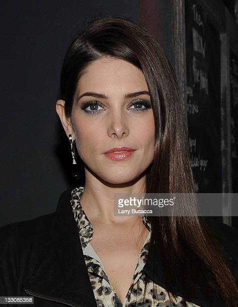 Ashley Greene attends the after party for the Cinema Society DKNY screening of The Twilight Saga Breaking Dawn Part 1 at Sons of Essex on November 16...