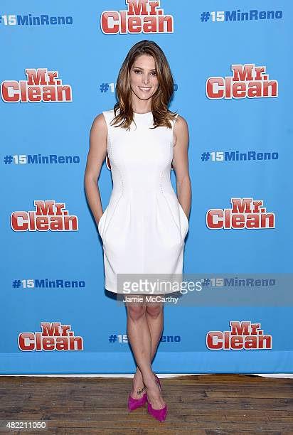 Ashley Greene attends the Ideas With Mr Clean at 24th Street Loft on July 28 2015 in New York City