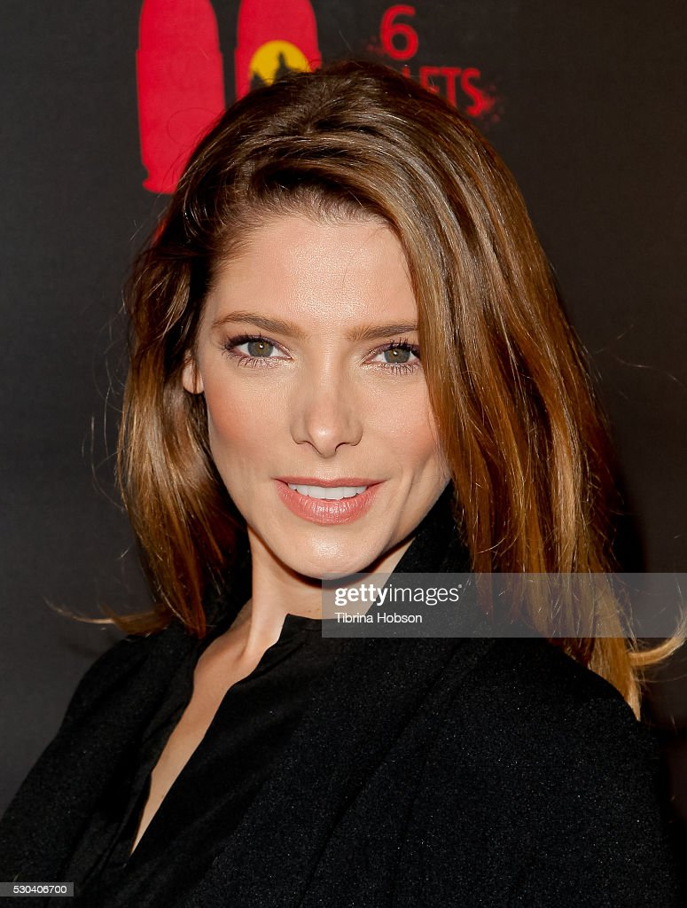 Ashley Greene attends the launch of '6 Bullets To Hell' on May 10, 2016 in Los Angeles, California.