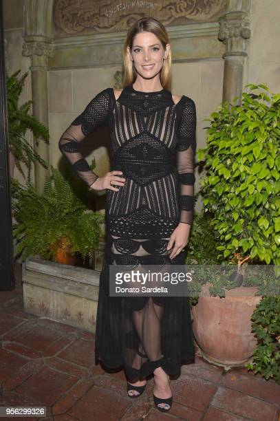 Ashley Greene attends the Nicole Miller Spring Collection Dinner at Chateau Marmont on May 8 2018 in Los Angeles California