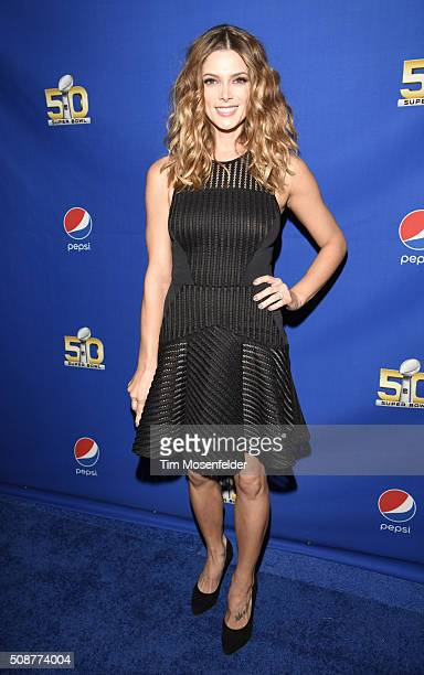 Ashley Greene attends the Pepsi Rookie Of The Year Awards at Pier 70 on February 5 2016 in San Francisco California