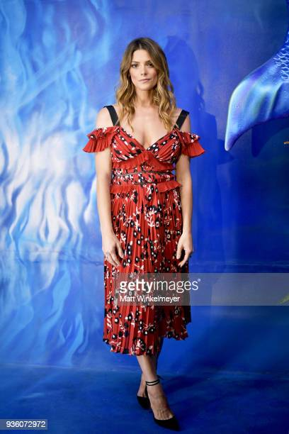 Ashley Greene attends the POPSUGAR x Freeform Mermaid Museum VIP Night at Goya Studios on March 21 2018 in Los Angeles California