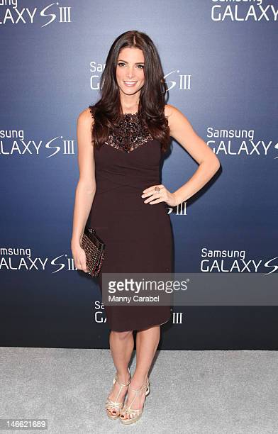 Ashley Greene attends the Samsung Galaxy SIII launch>> at Skylight Studio on June 20 2012 in New York City