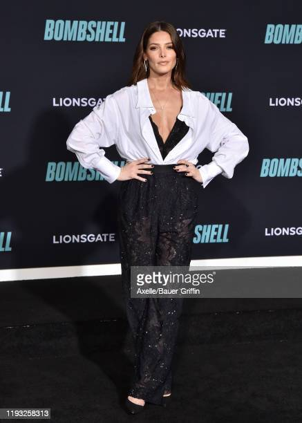 "Ashley Greene attends the special screening of Liongate's ""Bombshell"" at Regency Village Theatre on December 10, 2019 in Westwood, California."