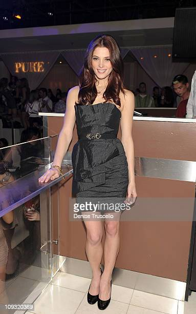 Ashley Greene celebrates her birthday at Pure Nightclub on February 19 2011 in Las Vegas Nevada