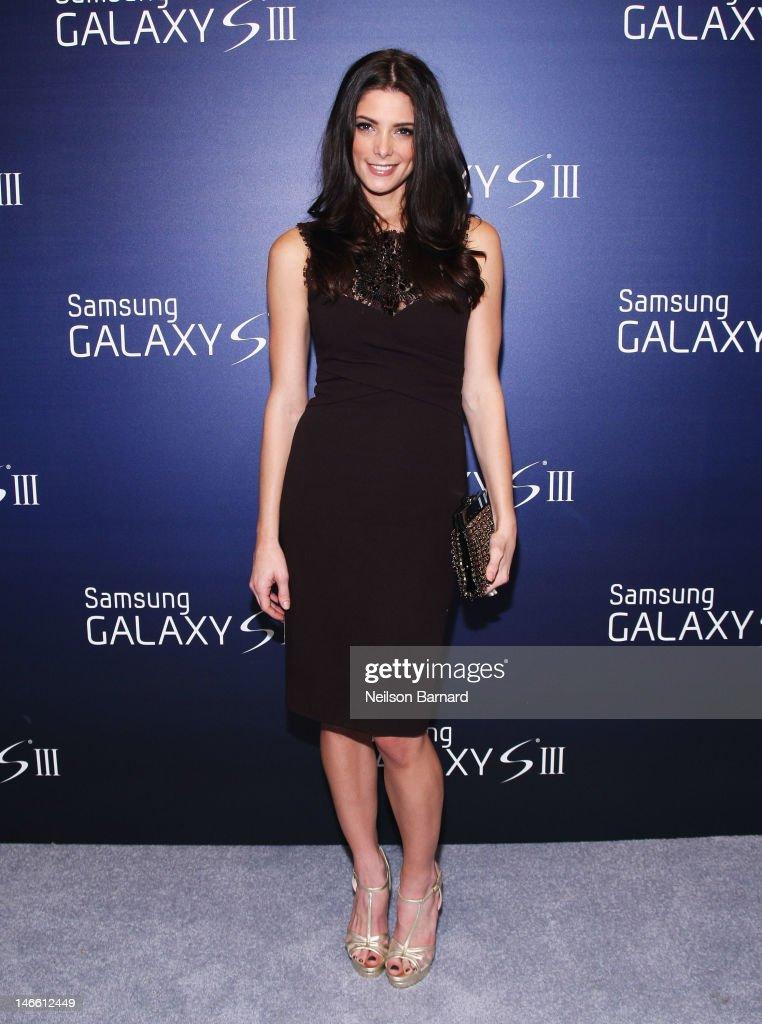 Ashley Greene hosts the Samsung Galaxy S III Launch at Skylight Studios on June 20, 2012 in New York City.