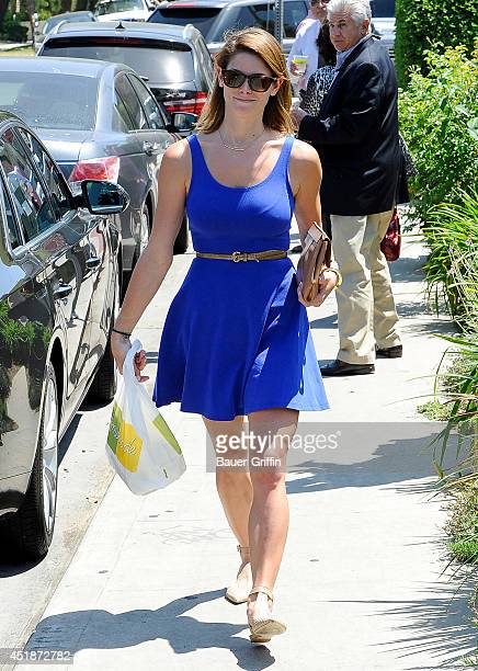 Ashley Greene is seen on July 08 2014 in Los Angeles California