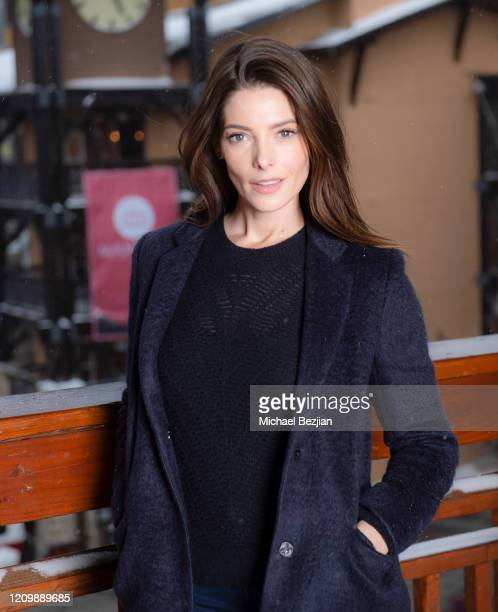 Ashley Greene poses for portrait at 3rd Annual Mammoth Film Festival Portrait Studio – Sunday on March 01, 2020 in Mammoth Lakes, California.