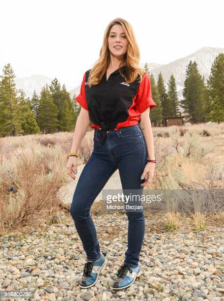 Ashley Greene poses for portrait giveback for The Artists Projectat The Inaugural Mammoth Film Festival on February 10 2018 in Mammoth Lakes...
