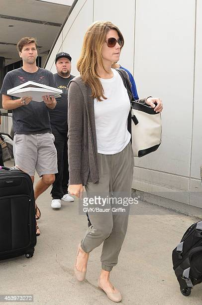 Ashley Greene seen at LAX on August 22 2014 in Los Angeles California