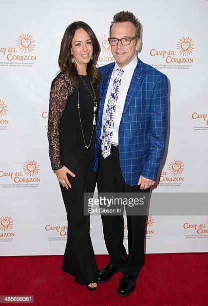 Ashley Groussman and husband Tom Arnold attend Camp del Corazon's 11th Annual Gala del Sol Honoring Sylvester Stallone and Jennifer Flavin at Dolby...