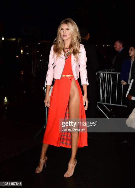 Ashley Haas arrives to 'A Simple Favor' premiere at Museum of Modern Art on September 10 2018 in New York City