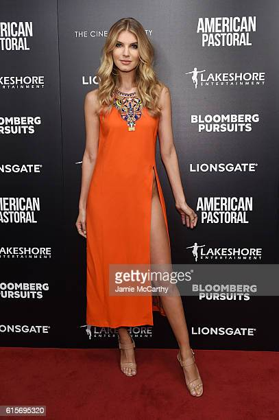 Ashley Haas attends a screening of American Pastoral hosted by Lionsgate Lakeshore Entertainment and Bloomberg Pursuits at Museum of Modern Art on...