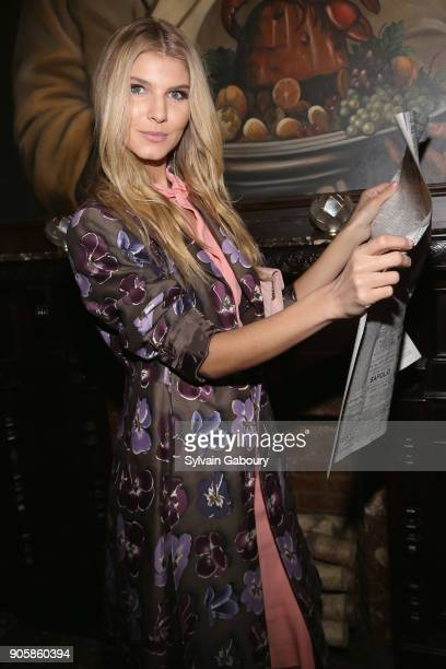 Ashley Haas attends New York Premiere after party for TNT's 'The Alienist' on January 16 2018 in New York City