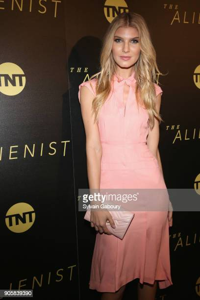 Ashley Haas attends New York Premiere of TNT's 'The Alienist' on January 16 2018 in New York City
